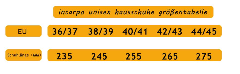 incarpo Unisex Hausschuhe Sandalen Herren Damen