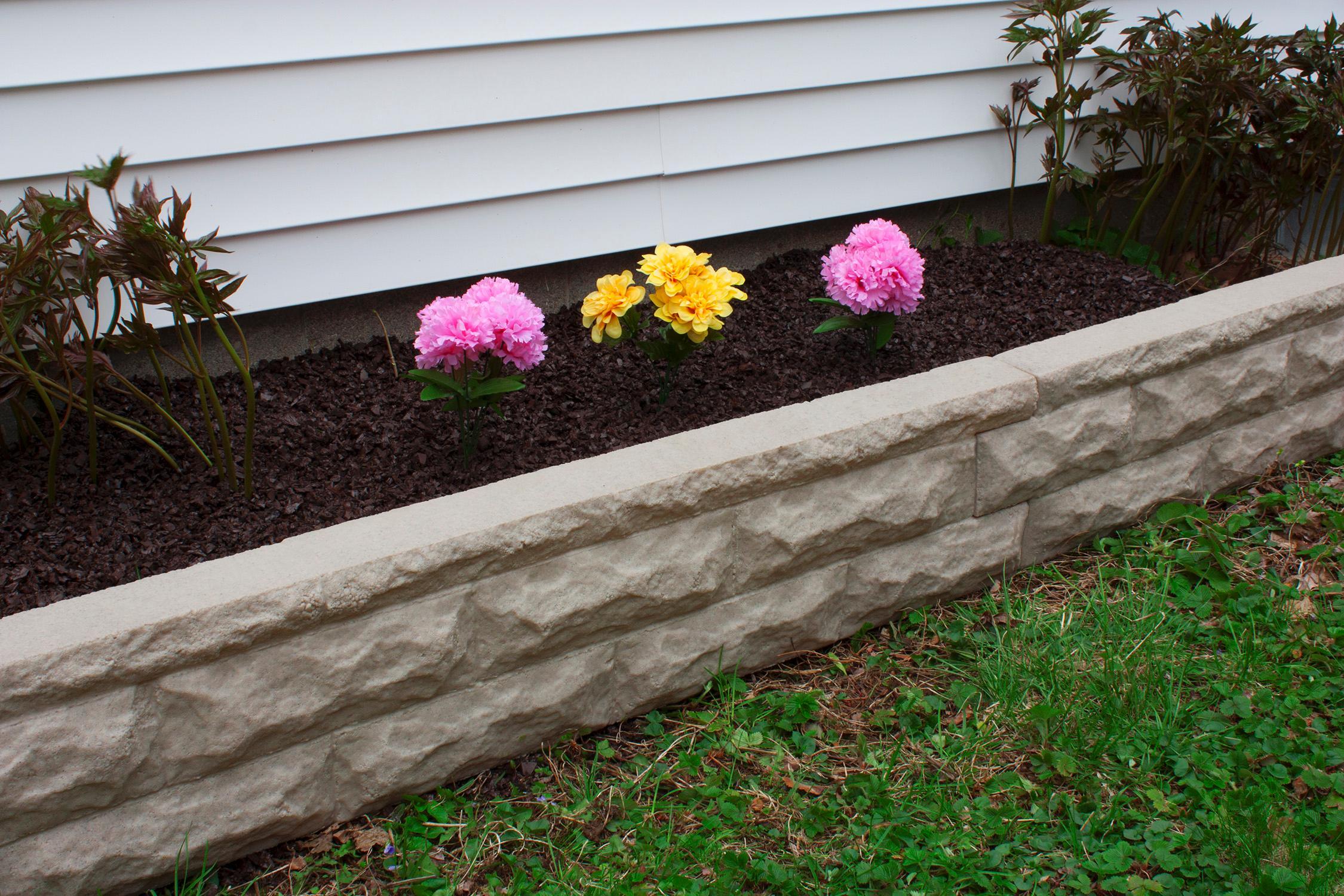 Amazon Com Good Ideas Gw Stone Red Garden Wizard Stone Border Red Brick Garden Outdoor