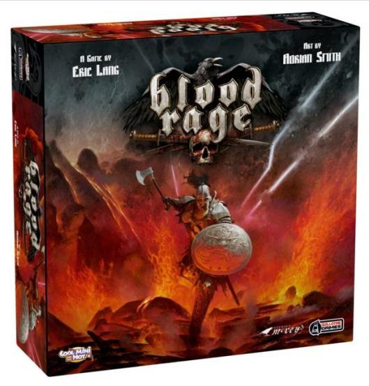 """Resultado de imagen de blood rage board game"""""""