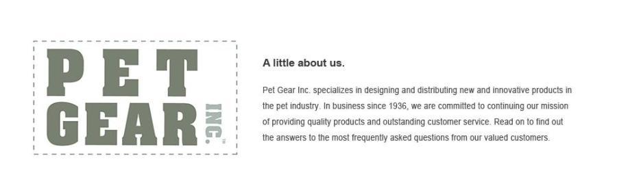 Logotipo da Pet Gear