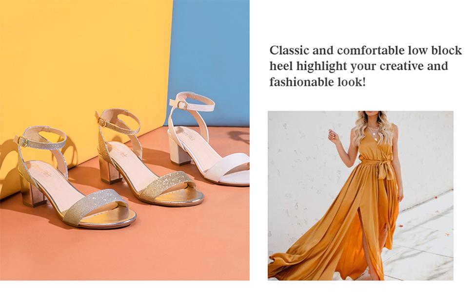 women's heel sandals