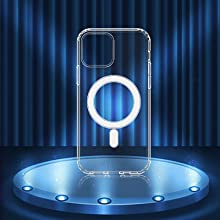 crystal clear 12 pro case