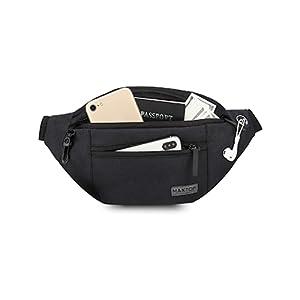 Black fanny pack