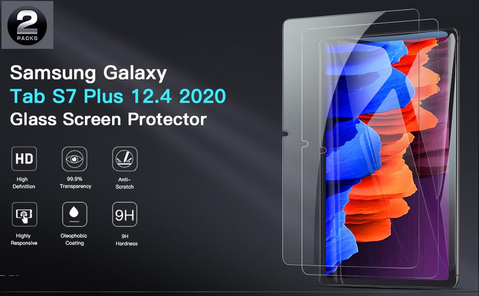 Samsung Galaxy Tab S7 Plus Screen Protector 2020