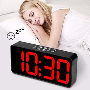 alarm clock large number
