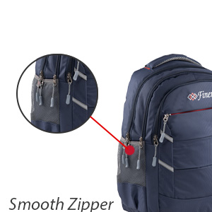 Smooth ZIpper Backpack