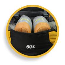 shoe compartment