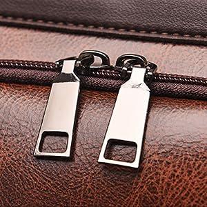 Double Zipper Design & Durable hardware