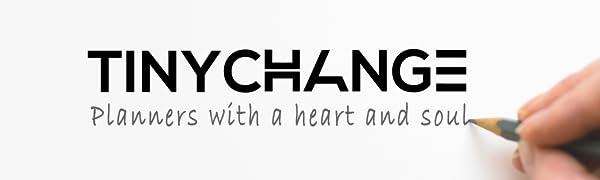 TINYCHANGE, Tiny change, Planner, 2020, Diary