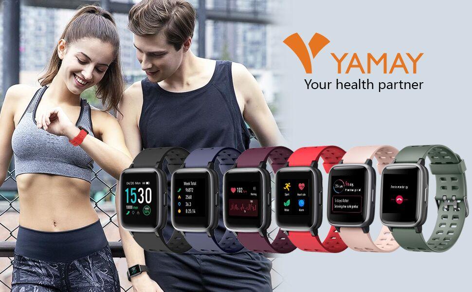yamay smart watch fitness watch fitness tracker
