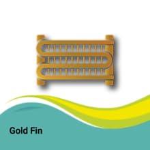 Gold Evaporator Fins