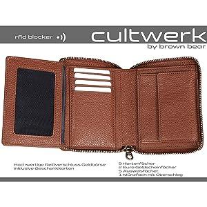 reißverschluss herren damen modern kartenfächer kreditkarte brieftasche Portemonnaie unisex beutel