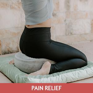 meditation cushion velvet cover floor pillow yoga pillow