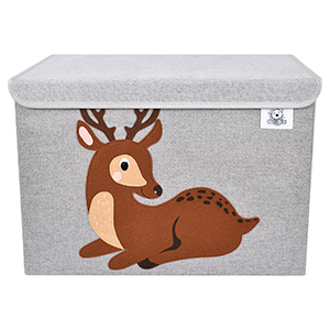 animal cube storage bins toy chest organizer canvas fabric