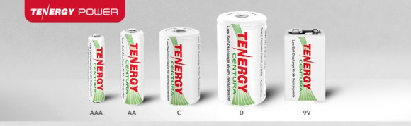 Tenergy rechargeable NiMH batteries centura rechargeable battery