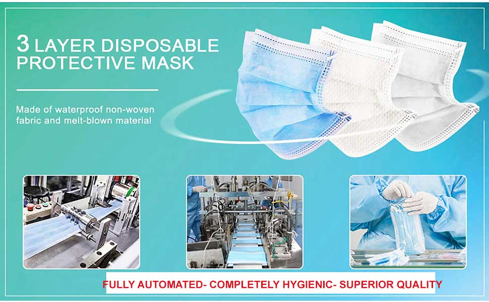 La'Forte 3 Ply Mask