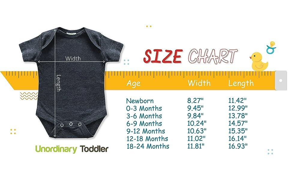 Size Chart- Romper