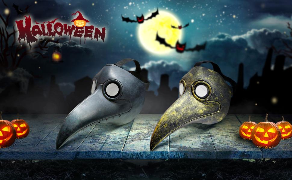 Halloween Mask Plague Doctor
