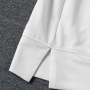 side split sweatshirt