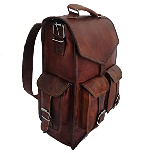leather briefcase backpack bag