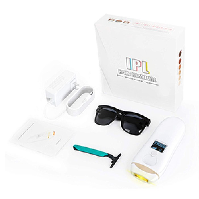 IPL Geräte HaarentfernHaarentfernungsgerätung Schmerzlose Laser Haarentfernungsgerät mit