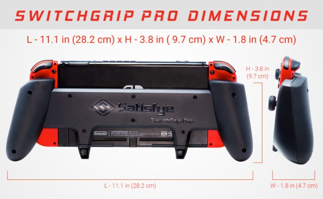 switchgrip pro dimensions