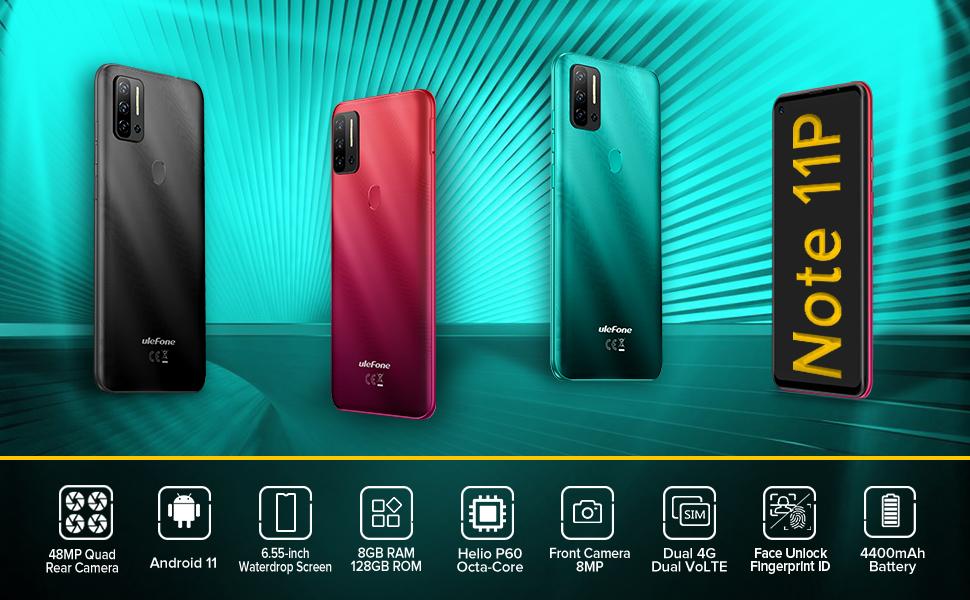 ulefone note 11p unlocked cell phones smartphone phones unlocked