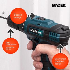 MYLEK cordless drill