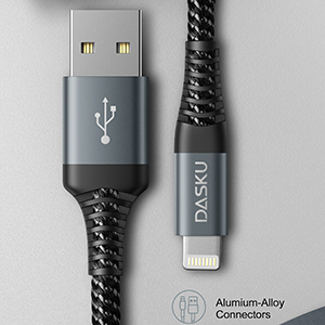 braided iphone cable