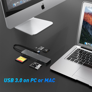 CFast CF SD TF MS memory card reader adapter cfast multiport card reader usb 3.0 cfast card reader