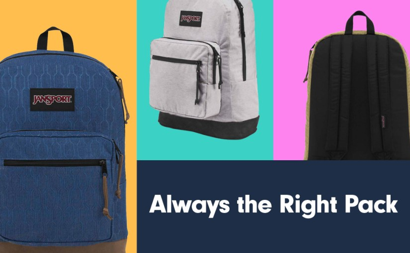 JanSport Right Pack Digital Edition - Mild or Wild? Whatever your vibe, it's always the Right Pack.