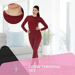 TThermajane Thermal Underwear Set