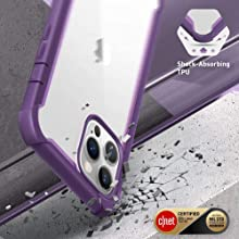 i-Blason Ares Clear Case for iPhone 12 Pro Max 6.7 2020
