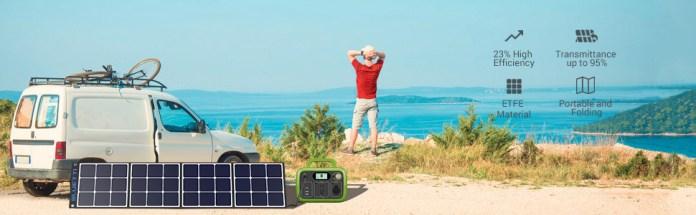 BLUETTI SP120 120W Solar Panel Charger