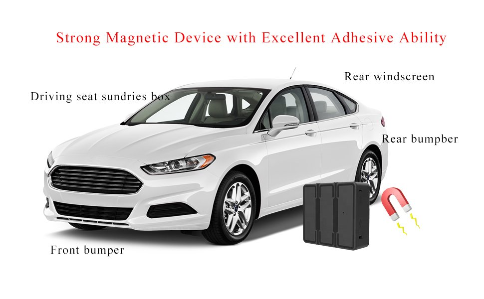 Strong Magnetic GPS Tracking device hidden