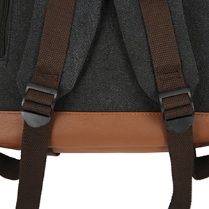 Shoulder strap connection buckle display