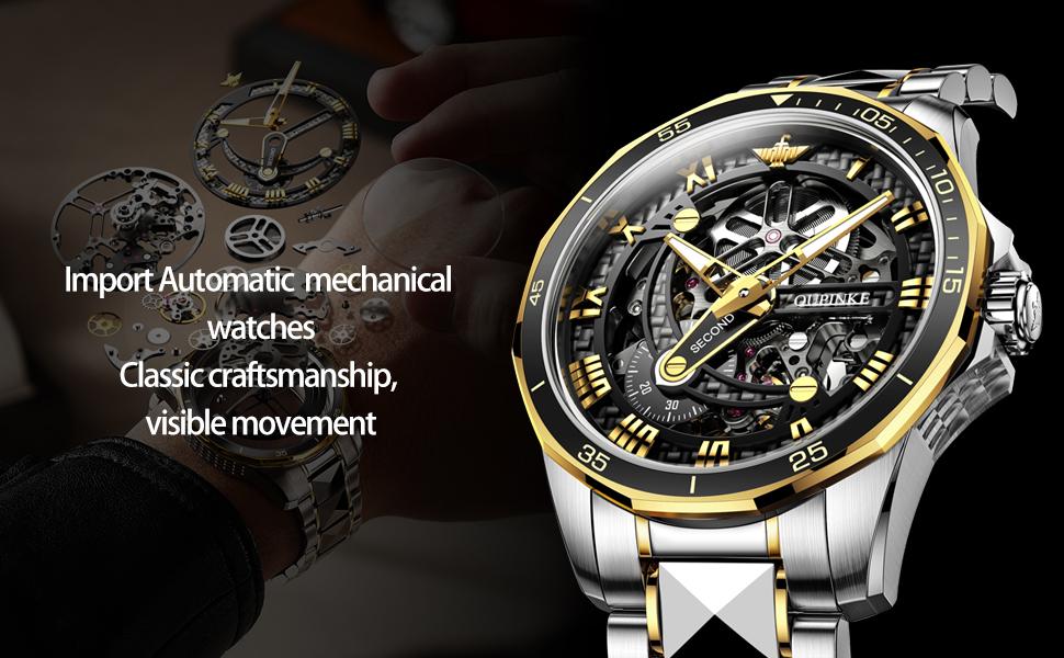 mens Automatic mechanical watch