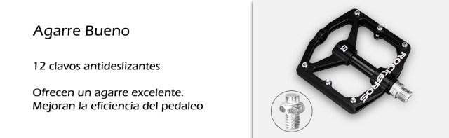 pedales antideslizantes