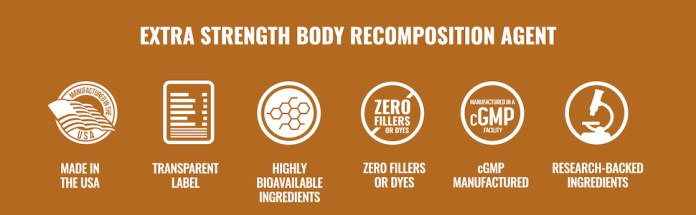 Extra Strength Body Recomposition Agent