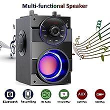 Multi-functional speaker