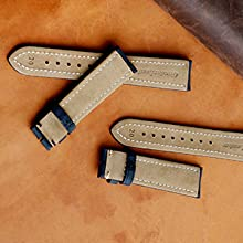 suede watch band