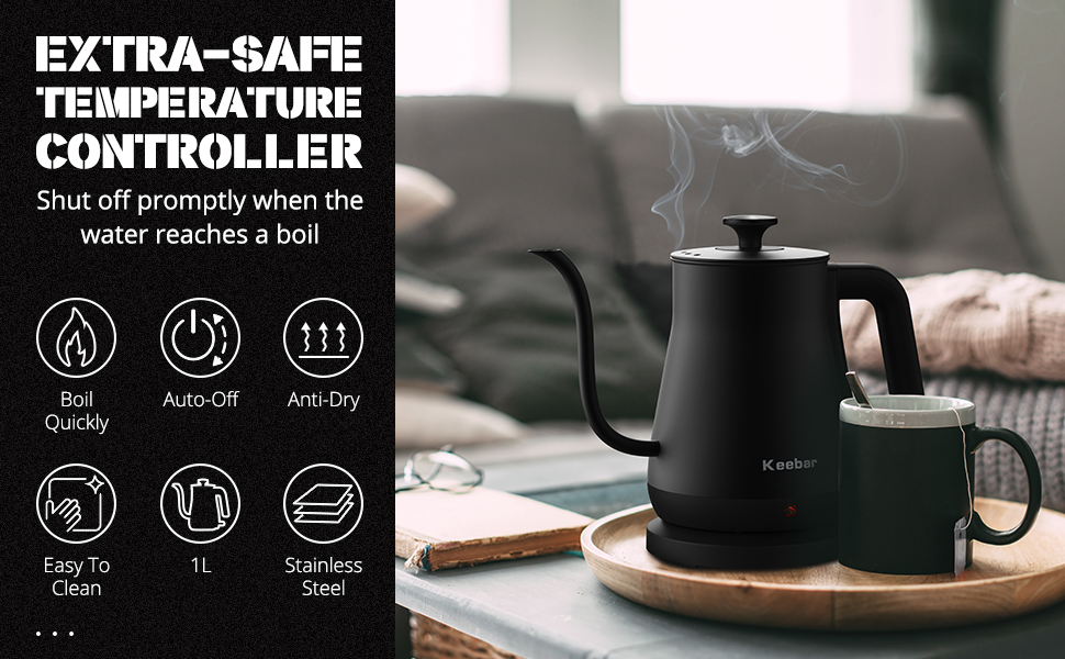 eletric gooseneck kettle