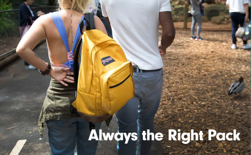 JanSport Right Pack  - Mild or Wild? Whatever your vibe, it's always the Right Pack.