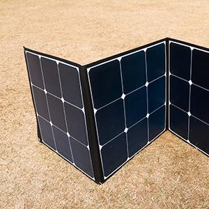 Solar panel for power station