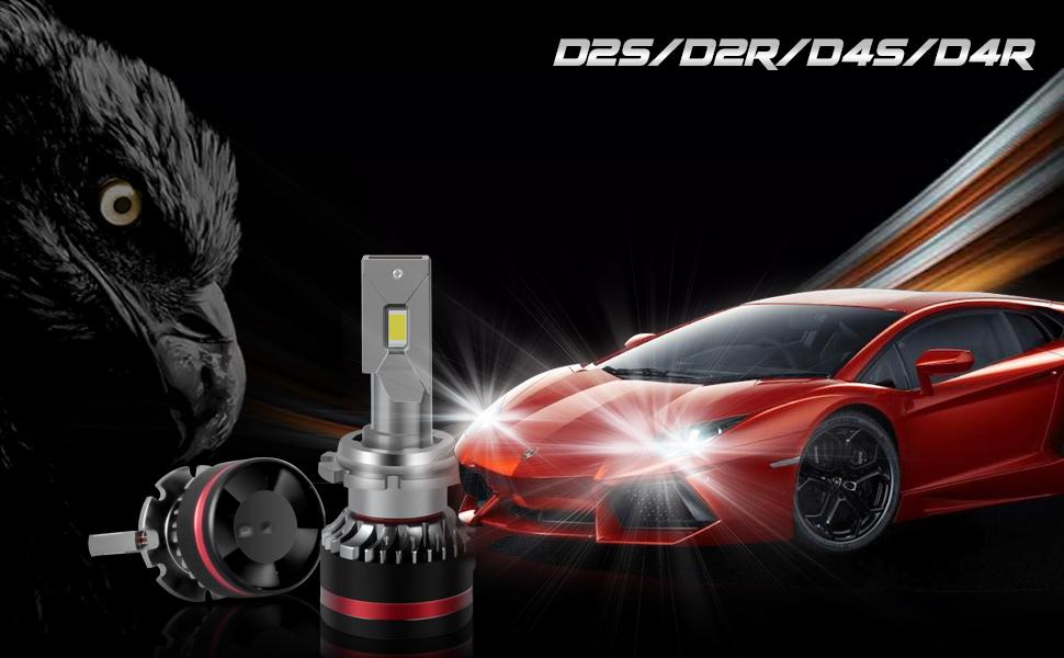D2S/D2R/D4S/D4R LED HEADLIGHT BULBS