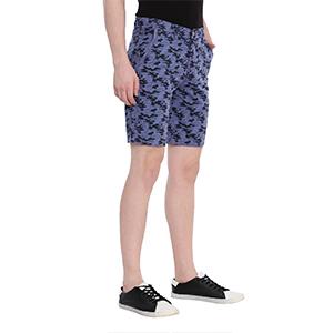 Swiss Club Slim Fit Cotton Shorts