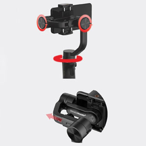 Hohem iSteady Mobile Plus phone gimbal stabilizers