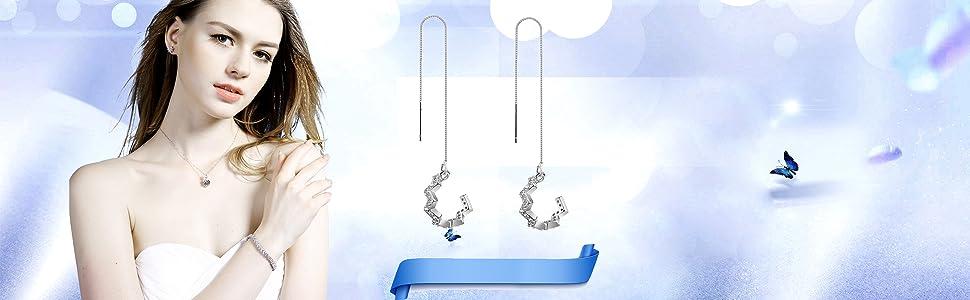 star wrap earrings for women star earrings