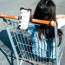 Aonkey phone holder help you check shopping list easily,never forget what to buy.