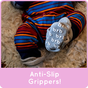 super cozy and warm fleece baby booties with organic cotton gripper bottoms 3 snap system for fit